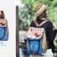 กระเป๋าเป้ SUPER LOVER ใหม่ Mori แมวเพศหญิงน่ารักแบบญี่ปุ่น มี 4 ลาย (Pre-Order) thumbnail 4