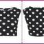 Topshop dots crop top Size uk10 thumbnail 4
