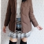 ((ขายแล้วครับ))((จองแล้วครับ))ca-2575 เสื้อโค้ทกันหนาวผ้าร่มขนเป็ดสีน้ำตาล รอบอก41 thumbnail 3