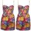 Topshop Floral Dress Size Uk10 thumbnail 2