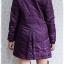 ((ขายแล้วครับ))((คุณThanchanokจองครับ))ca-2599 เสื้อโค้ทกันหนาวผ้าร่มสีม่วง รอบอก38 thumbnail 2