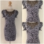Lipsy Grey Leopard print dress Size uk10 thumbnail 2