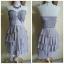 Lipsy Ruffle Bandeau Dress Size uk12 thumbnail 2
