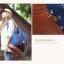 """กระเป๋าเป้สะพาย ยี่ห้อ Superlover สไตส์ญี่ปุ่น มีช่องใส่ Notebook14"""" สีน้ำเงินดอกไม้ (Pre-Order) thumbnail 15"""