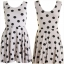 Topshop Polkadot Dress Size uk10-12 thumbnail 2