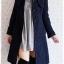 ((ขายแล้วครับ))((คุณCottonจองครับ))ca-2719 เสื้อโค้ทกันหนาวผ้าวูลสีกรมท่า รอบอก36 thumbnail 3