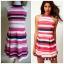 Lipsy Striped Dress Size uk10 thumbnail 1