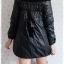 ((ขายแล้วครับ))((คุณนิตยาจองครับ))ca-2577 เสื้อโค้ทกันหนาวผ้าร่มสีดำ รอบอก36 thumbnail 2