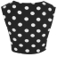 Topshop dots crop top Size uk10 thumbnail 3
