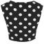 Topshop dots crop top Size uk10 thumbnail 3
