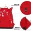กระเป๋าเป้ยี่ห้อ Super Lover สาวญี่ปุ่นฮัน Xiaoqing ผ้าใบสีแดงน้องแมว (Preorder) thumbnail 9