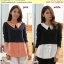 Preorder เสื้อผ้าไซส์ใหญ่ สีชมพู ขาว thumbnail 1
