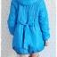 ((ขายแล้วครับ))((คุณTingtongจองครับ))ca-2638 เสื้อโค้ทกันหนาวผ้าร่มสีฟ้า รอบอก43 thumbnail 2