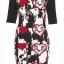 Topshop bodycon Dress Size uk12 thumbnail 2