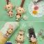 ผ้าสักหลาดเกาหลี ลายลิง size 1mm (Pre-order) ขนาด 45x30 cm thumbnail 4