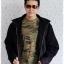 ((ขายแล้วครับ))((จองแล้วครับ))cm-98 เสื้อแจ๊คเก็ตกันหนาวผ้าชามัวร์สีดำ รอบอก51 thumbnail 3