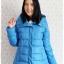 ((ขายแล้วครับ))((คุณพรทิพย์จองครับ))ca-2689 เสื้อโค้ทกันหนาวผ้าร่มขนเป็ดสีฟ้า รอบอก41 thumbnail 1