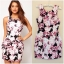 Lipsy Bodycon Floral Dress size uk10 thumbnail 1