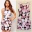 Lipsy Bodycon Floral Dress size uk10 thumbnail 1