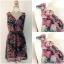 Lipsy Floral Dress Size uk12 thumbnail 2