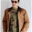 ((ขายแล้วครับ))cm-97 เสื้อแจ๊คเก็ตกันหนาวผ้าชามัวร์สีน้ำตาล รอบอก46 thumbnail 3