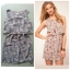 ASOS Lilac Floral Dress Size uk8 thumbnail 1
