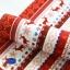 ผ้าสักหลาดเกาหลี พิมพ์ลาย Nordic size 2mm (Pre-order) ขนาด 42x30 cm มี 2 สี แดง น้ำเงิน thumbnail 5