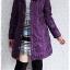 ((ขายแล้วครับ))((คุณThanchanokจองครับ))ca-2599 เสื้อโค้ทกันหนาวผ้าร่มสีม่วง รอบอก38 thumbnail 3