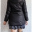 ((ขายแล้วครับ))ca-2552 เสื้อโค้ทกันหนาวผ้าร่มสีดำ รอบอก34 thumbnail 2