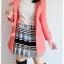 ((ขายแล้วครับ))((ขายแล้วครับ))((คุณKatจองครับ))ca-2675 เสื้อโค้ทกันหนาวผ้าวูลสีชมพู รอบอก33 thumbnail 3