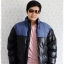 ((ขายแล้วครับ))cm-105 เสื้อแจ๊คเก็ตกันหนาวผ้าร่มสีดำ รอบอก46 thumbnail 3