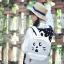 กระเป๋าเป้ยี่ห้อ Super Lover Orecchiette เกาหลีการ์ตูนสไตล์กระเป๋าเป้สะพายหลังน่ารัก (Preorder) ใบเล็กสีขาว thumbnail 5