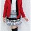 ((ขายแล้วครับ))((คุณปนัดดาจองครับ))ca-2617 เสื้อโค้ทกันหนาวผ้าวูลสีแดง รอบอก33 thumbnail 3