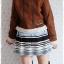 ((ขายแล้วครับ))((คุณสุจารีวรรณจองครับ))ca-2590 เสื้อแจ๊คเก็ตกันหนาวผ้าชามัวร์สีน้ำตาล รอบอก40 thumbnail 2