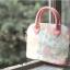 กระเป๋าถือสะพายข้างยี่ห้อ Super Lover ดอกไม้ญี่ปุ่นสีหวาน (Pre-Order) thumbnail 8