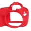 Canon 100D EasyCover Silicone Case -Red