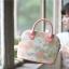 กระเป๋าถือสะพายข้างยี่ห้อ Super Lover ดอกไม้ญี่ปุ่นสีหวาน (Pre-Order) thumbnail 4
