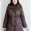 ((ขายแล้วครับ))((คุณKateจองครับ))ca-2639 เสื้อโค้ทกันหนาวผ้าร่มสีน้ำตาล รอบอก40 thumbnail 1