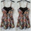 Primark Floral playsuit Size UK8 thumbnail 2
