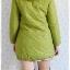 ((ขายแล้วครับ))((จองแล้วครับ))ca-2634 เสื้อโค้ทกันหนาวผ้าร่มสีเขียว รอบอก36 thumbnail 2