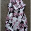 Lipsy Bodycon Floral Dress size uk10 thumbnail 2