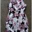 Lipsy Bodycon Floral Dress size uk10 thumbnail 2