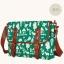 กระเป๋าสะพายยี่ห้อ Super Lover สไตล์ญี่ปุ่นลายสีขาวเขียว (Pre-Order) thumbnail 9