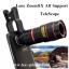 เลนส์ซูมสำหรับiPhone,Samsung,HTC,iPadมือถือทุกรุ่น8เท่า- TeleScope Lens8X thumbnail 1