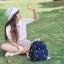 กระเป๋าเป้ยี่ห้อ Super Lover 2015 new summer bag small canvas embroidered mini cute 2 Color (Preorder) thumbnail 6