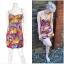 Topshop Floral Dress Size Uk10 thumbnail 4