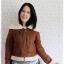 ((ขายแล้วครับ))((คุณสุจารีวรรณจองครับ))ca-2590 เสื้อแจ๊คเก็ตกันหนาวผ้าชามัวร์สีน้ำตาล รอบอก40 thumbnail 1