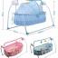 เปลไกวไฟฟ้าอัตโนมัติ Primi แบบเปลไกวข้าง สีฟ้า - ชมพู + เบาะรองนอนพิเศษ thumbnail 4