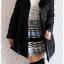 ((ขายแล้วครับ))((คุณKatจองครับ))ca-2671 เสื้อโค้ทกันหนาวผ้าร่มขนเป็ดสีดำ รอบอก39 thumbnail 3