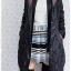 ((ขายแล้วครับ))(จองแล้วครับ))ca-2610 เสื้อโค้ทกันหนาวผ้าร่มสีดำ รอบอก38 thumbnail 3